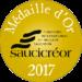 Médaille Saucicréor Or 2017 - Salaisons du Val d'Allier